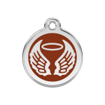 Red Dingo Médaille Angel Wings marron