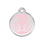 Red Dingo Médaille Angel Wings Rose