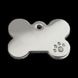 Red Dingo Medalla Diamante Bone Plata